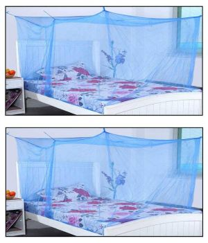 Buy Shahji Creation Blue Polyester Mosquito Net Buy One Get One online