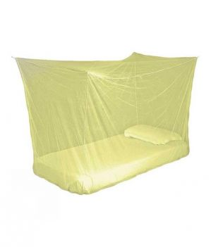 Buy Shahji Creation Yellow Polyester Single Bed Mosquito Net online