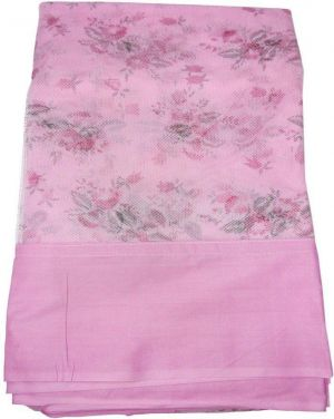 Buy Shahji Creation Double Bed Ploystar Printed Super Soft 6x7 Feet Mosquito Net (pink) online