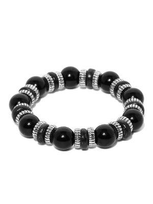 Buy Tipsyfly Western Cosmic Blackbracelet For Men-002mob online