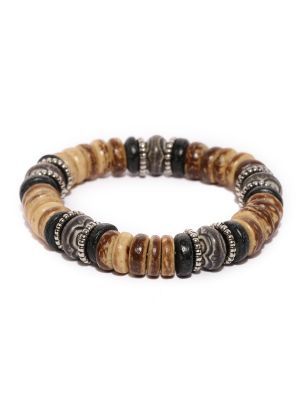 Buy Tipsyfly Western Anjuna Beaded Bracelet For Men-003mob online