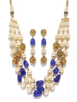 Buy Tipsyfly Ethnic Meena Haar For Women-1017n online