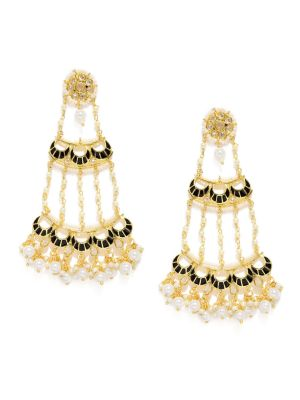 Buy Tipsyfly Chandelier Ethnic Earrings For Women-1139e online