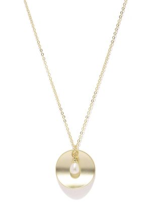 Buy Tipsyfly Western Pearl Drop Disk Pendant For Women-308n online