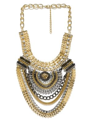 Buy Tipsyfly Party Wear Tribal Queen Necklace For Women (1 Necklace) online
