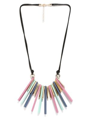 Buy Tipsyfly Party Wear Pastel Palette Necklace And Chains For Women (1 Necklace) online
