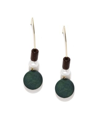 Buy Tipsyfly Western Wooden Ear Hooks For Women-520e online