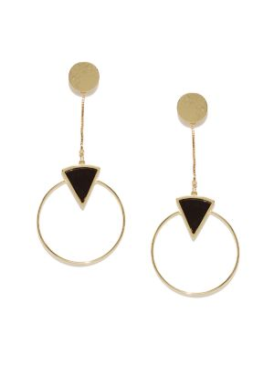 Buy Tipsyfly Party Wear Drop The Hoop Earrings For Women (1 Pair Earring) online