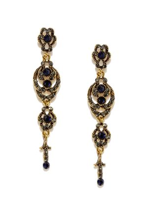 Buy Tipsyfly Party Wear Antique Finish Earrings For Women (1 Pair Earring) online