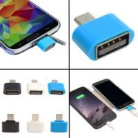 Buy Ksj Original Otg Adapter Micro USB Otg To USB 2.0 Adapter For Smartphone, Tablet & All Micro USB Devices online