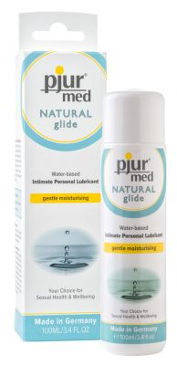 Buy Pjur Med Natural Glide Waterbased Personal Lubricant 100 Ml online
