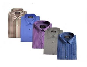 Buy Pack Of 5 Formal Shirts online