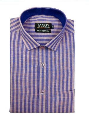 Buy Tangy Men's Wear Linning Full Shirt online