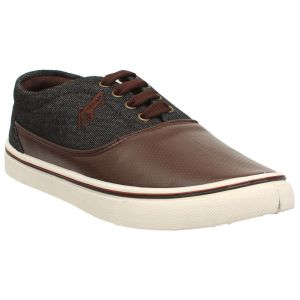Buy Menz Black & Brown Sneakers Casual Shoes A-1 online