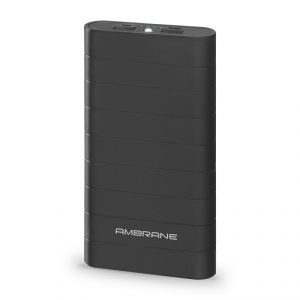 Buy Ambrane Knockout K8 Power Bank - Black online