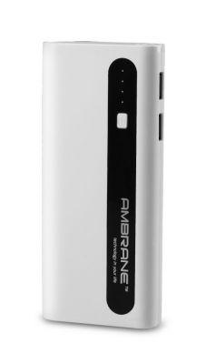 Buy Ambrane Power Bank P-1310 13000mah White & Black online