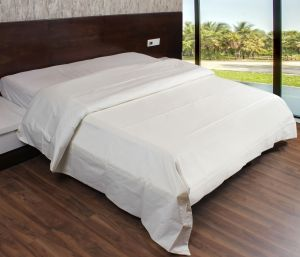 Buy Sferra Duvet Cover - Double Size 100% Egyptian Cotton Ivory Ivory online