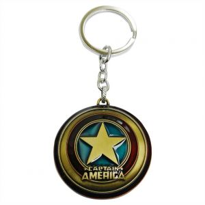 Buy Jharjhar Captain America Key Chain (a) online