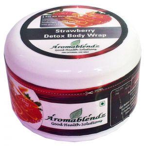 Buy Aromablendz Strawberry Detox Body Wrap online