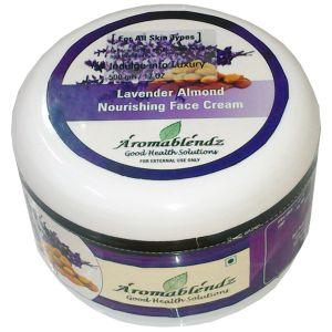 Buy Aromablendz Lavender Almond Face Cream 500gm online