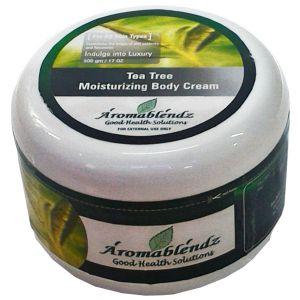 Buy Aromablendz Tea Tree Body Cream 500gm online