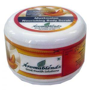 Buy Aromablendz Muskmelon Body Polishing Scrub 500gm online