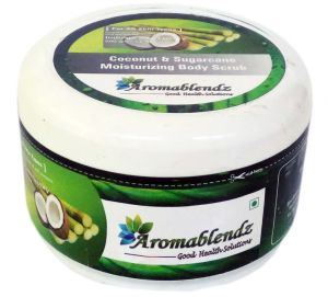 Buy Aromablendz Coconut & Sugarcane Body Polishing Scrub 500gm online