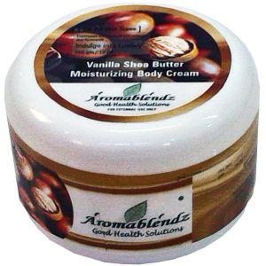 Buy Aromablendz Vanilla Shea Butter Body Cream online