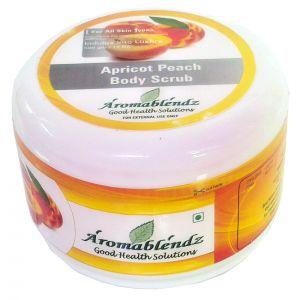 Buy Aromablendz Apricot Peach Body Polishing Scrub 500gm online