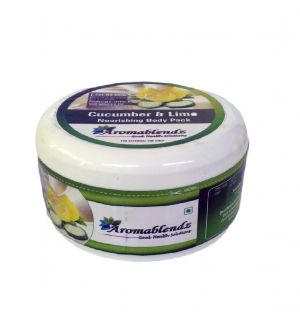 Buy Aromablendz Cucumber & Lime Body Pack 150gms online
