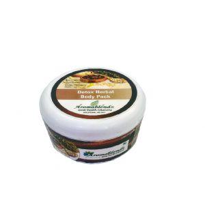 Buy Aromablendz Detox Herbal Body Pack - Brown 150gms online