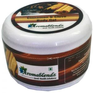Buy Aromablendz Cinnamon & Clove Body Gel 500gm online