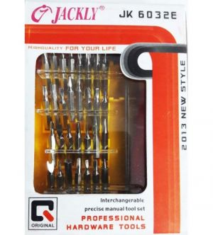 Buy Jackly 32 In 1 Magnetic Standard Screwdriver Set online