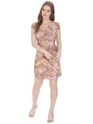Buy Bella Figura Coutureorange Printed Dress For Women - Bf146org online