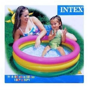 Buy Intex Children's Swimming Water Baby Pool 3 Feet Size For 1-3 Yrs Kid online
