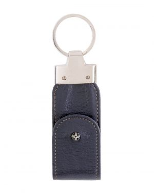 Buy Jl Collections Blue Leather USB Keypouch online