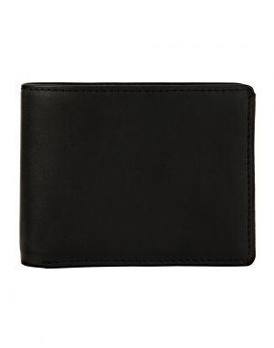 Buy Jl Collections Men's Black Genuine Leather Wallet (18 Card Slots) online