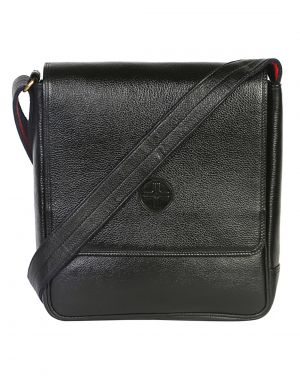 Buy Jl Collections 9 Inches Leather Men's Sling Bag online