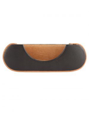 Buy Jl Collections Camel And Black Unisex Leather Table Card Holder online