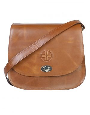 Buy Jl Collections Women's Leather Tan Sling Bag online