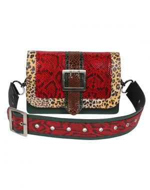 Buy Jl Collections Women's Leather Multicolor Crossbody Bag online