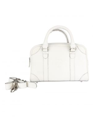 Buy Jl Collections Women's Leather White Shoulder Bag online