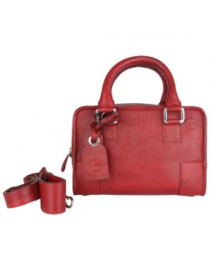 bd0d44a9e76d Buy Jl Collections Red Women s Leather Shoulder Handbag Online ...