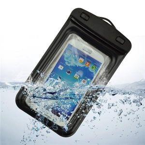 Buy Tuzech Two Buttoned Waterproof Pouch For All Smartphones (upto 6.6 Inches) online