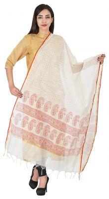 Buy Aaditri Clothing Ethnic Multi-coloured Cotton Dress Material For Women(77201713) online