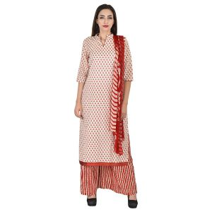 Buy Aaditri Clothing Ethnic Dress Material Cotton Multi-coloured Women(4720173) online