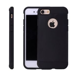 Buy Jumeira's iPhone 7 Cover, {imported} Shockproof Dual Layer Ultra Protective Case For iPhone 7 Simply Fit Series- Black online