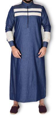 Buy Mashroo Al Marjan Denim Thobe online