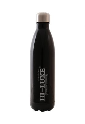 Buy Hi Luxe Thermo Steel Premium Steel 750 Ml Vaccum Flask Bottle - Black online