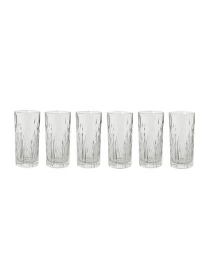 Buy Rcr Fire High Ball Tumbler, 370ml, Set Of 6 online